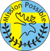 Mission Possible Zweden badge